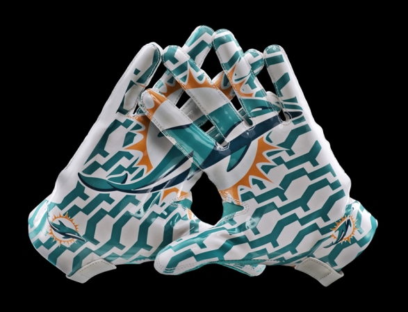 Dolphins Gloves