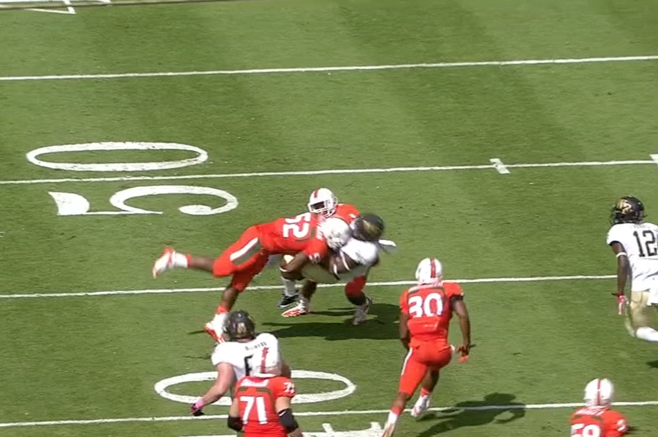 So is it all just thumping ball carriers  In this day and age NFL scouts  want their Inside Linebackers to cover. Perryman can do that too. 8d1a13844