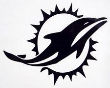 B&W Dolphins Logo