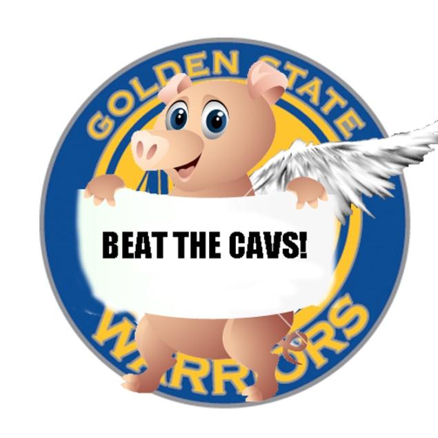 PiggyBeattheCavsWarriors