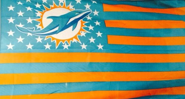 DolphinsAmFlag