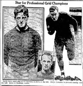 spartans players circa 1932