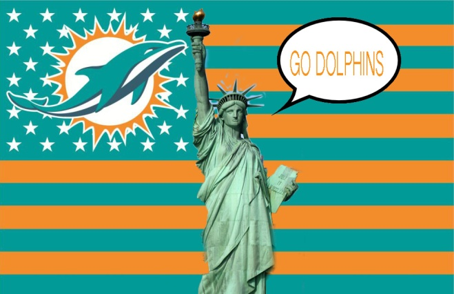 DLibertyandolphins Flag
