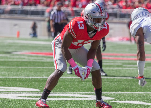 NCAA FOOTBALL: OCT 10 Maryland at Ohio State