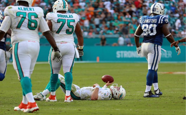 Tannehill on ground