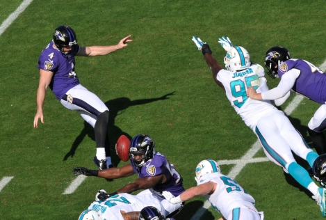 NFL: Baltimore Ravens at Miami Dolphins