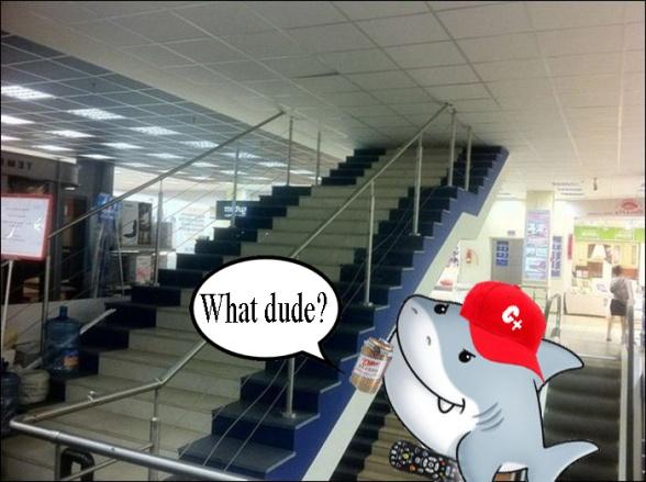 staircasefailshark