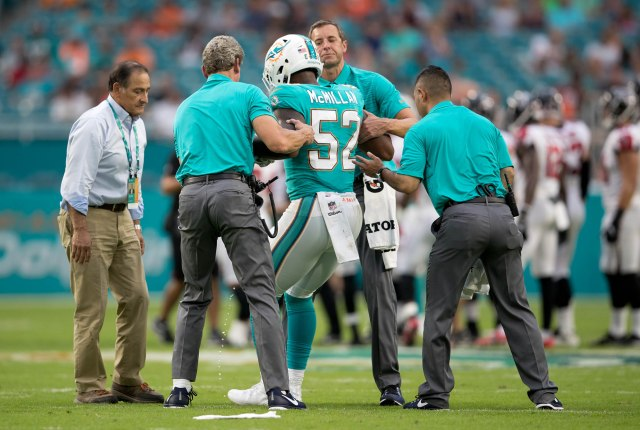 Miami Dolphins vs Atlanta Falcons pre-season game