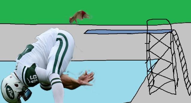 pokey diving