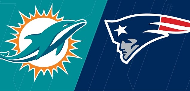Miami-Dolphins-Vs-New-England-Patriots-NFL-Poster