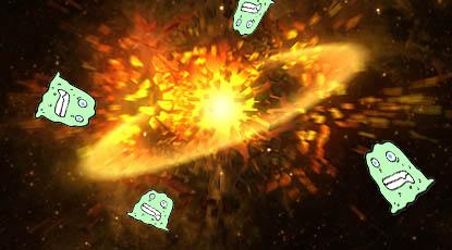 exploding planetslime